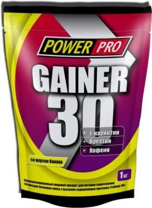 Power Pro Gainer 30 1000g фото