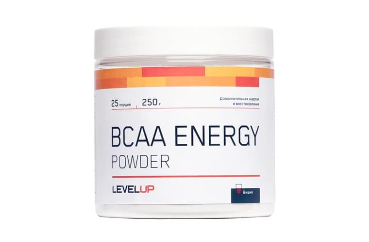 LevelUp BCAA Energy 250g фото
