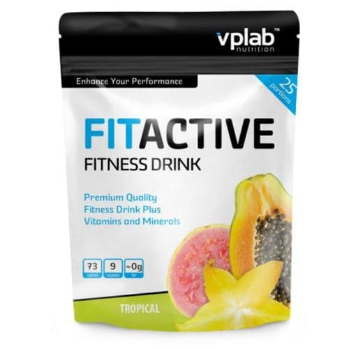 VP Laboratory  Fit Active Fitness Drink 500g фото