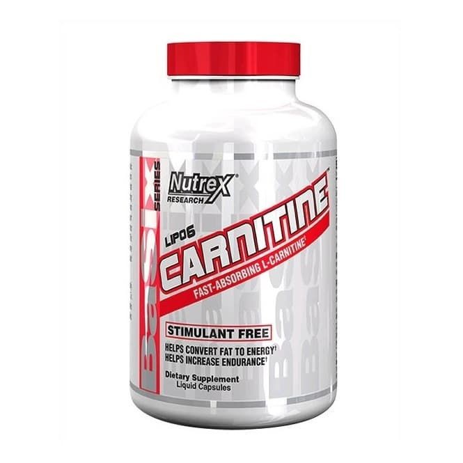 Nutrex Carnitine 60 caps фото